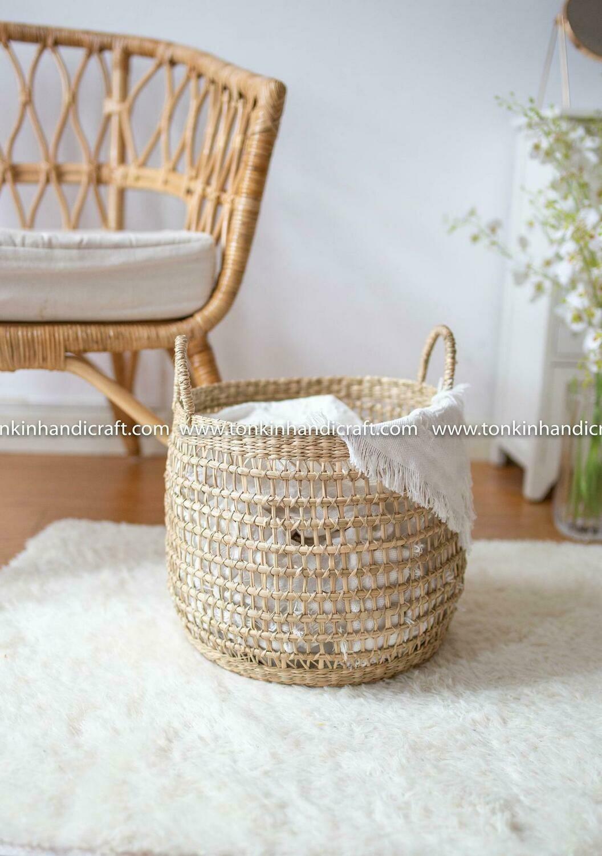 LOVEN Seagrass handmade basket
