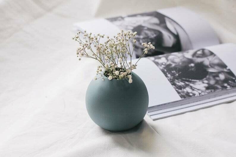 Tiny small flower vase