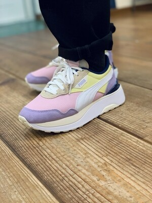 Puma Cruise Rider Pink Lady-Yellow Pear