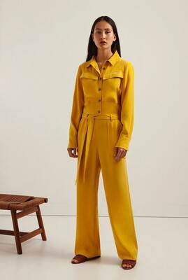 Another Label Celesta straight fit utility jumpsuit