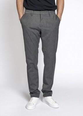 Woodbird Steffen Twill Pant - Light Grey