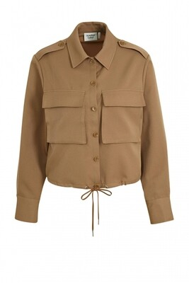Another Label Dustee twill shirt