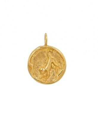 TAJ CHINESE ZODIAC MONKEY GOLD PLATED
