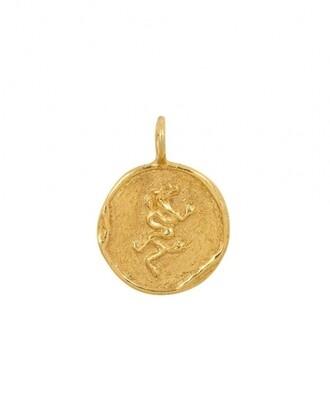 TAJ CHINESE ZODIAC DRAGON GOLD PLATED