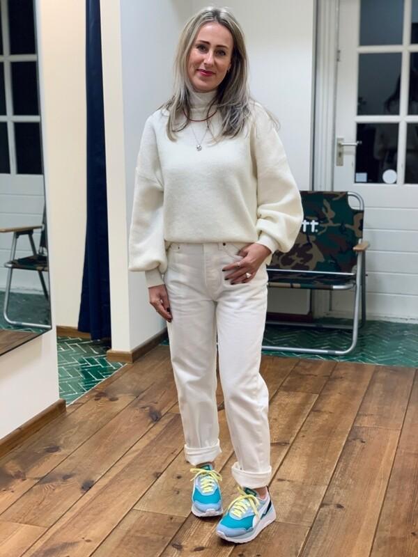 Won Hundred Blakely Knit - Cannoli Cream