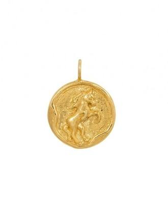 TAJ CHINESE ZODIAC HORSE GOLD PLATED