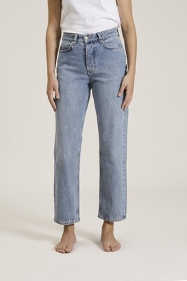 Won Hundred Pearl Jeans - Distressed Blue