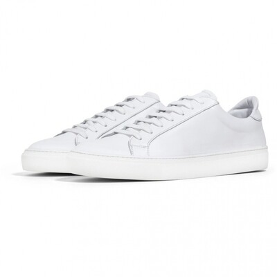 GARMENT PROJECT TYPE - WHITE LEATHER - WHITE MENS SIZES