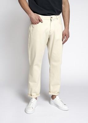 Woodbird Doc Twill Pants - Off White