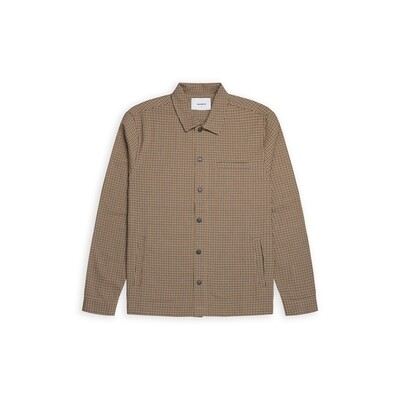 Woodbird Brenti Bleek Shirt - Brown
