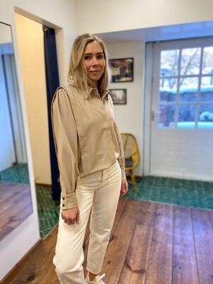 Norr Cassie Pleat Shirt