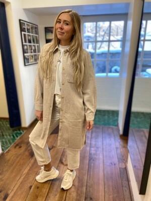 Norr Helia Long Shirt - Ivory