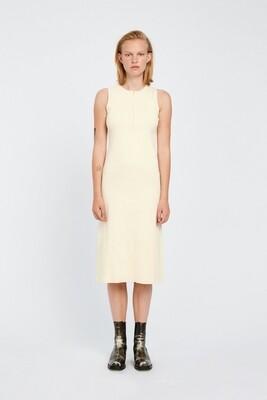 Won Hundred Jodie Midi Dress - Seedpearl White