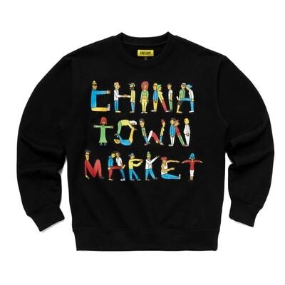 CHINATOWN MARKET CITY AEROBICS CREWNECK