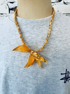 Saturdays & Sundays vintage necklace unisex - Orange