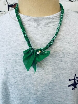 Saturdays & Sundays vintage necklace unisex - Green