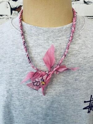 Saturdays & Sundays vintage necklace unisex - Pink