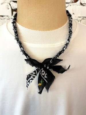 Saturdays & Sundays vintage necklace unisex - Black