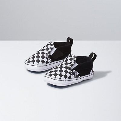 Vans Slip-On(Checker) - Black/True White