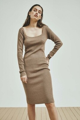 Norr Flora Knitted Dress