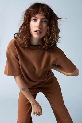 Another Label Ravenelle Piqué Tshirt