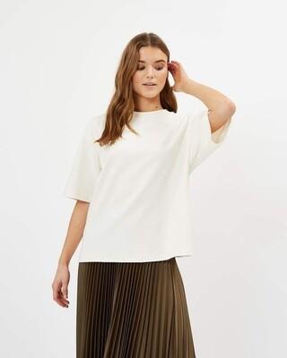 Minimum Aarhusi T-Shirt -Broken White