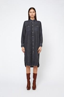 Won Hundred Isabel Pocket Dress - Washed Black