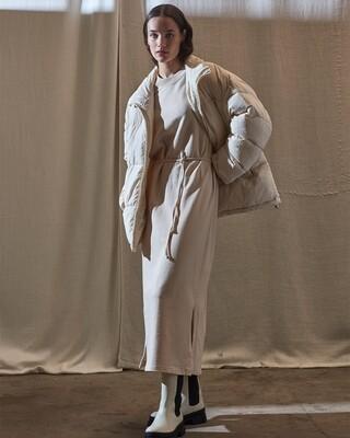 Another Label Fjorder dress beige