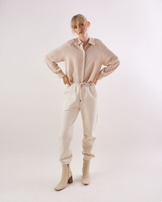 Another Label Dulice Sweat Pant beige