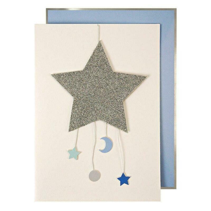 Card: Birth boy