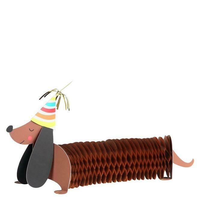 Card: Happy sausage dog