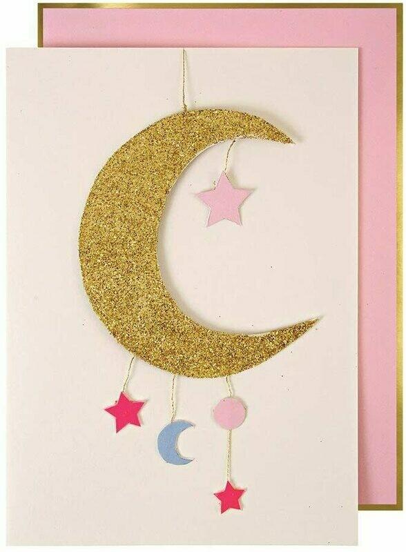 Card: Birth girl
