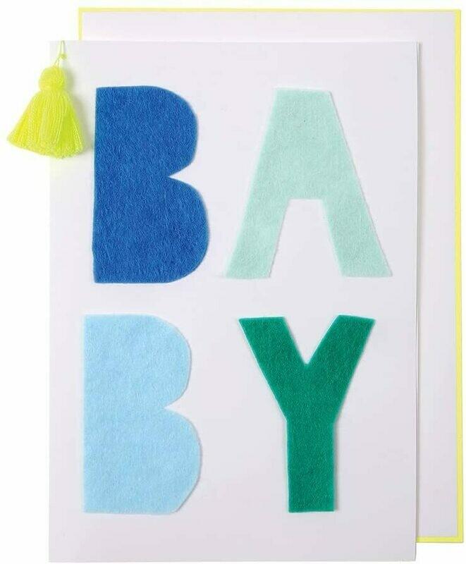 Card: Birth baby