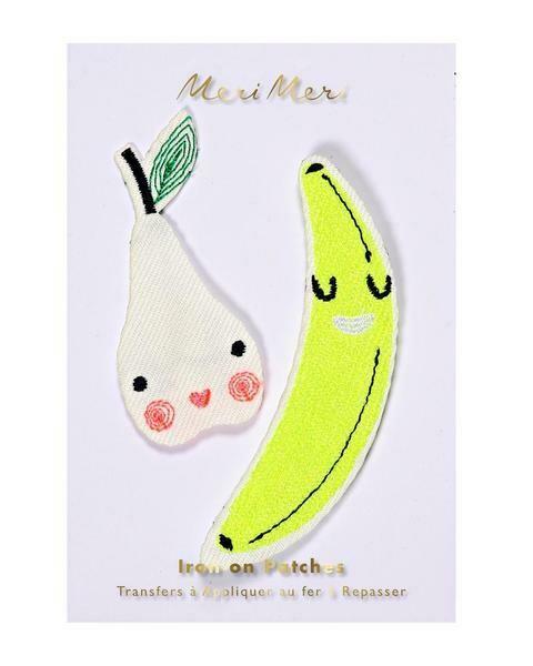 Iron patches - happy fruit