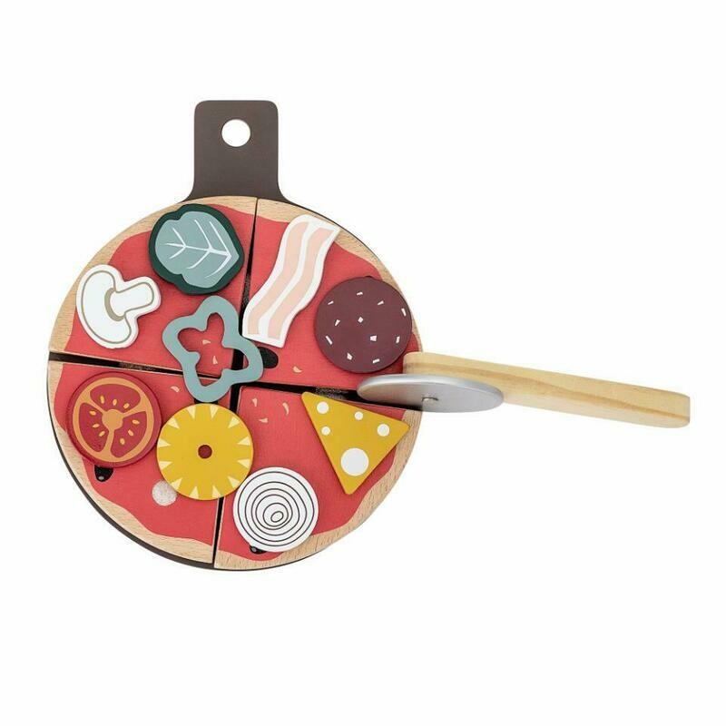 Holzspielzeug Pizza (15-tlg.)