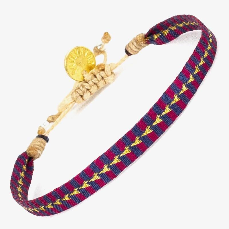 bracelet blue red