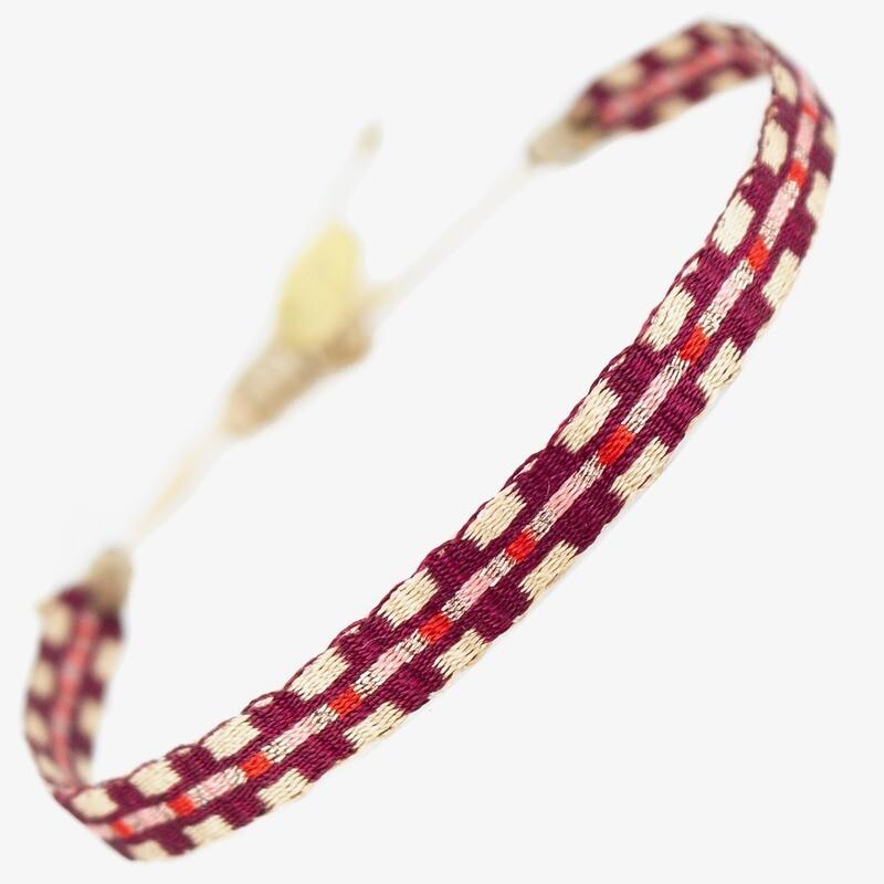 bracelet white & blue