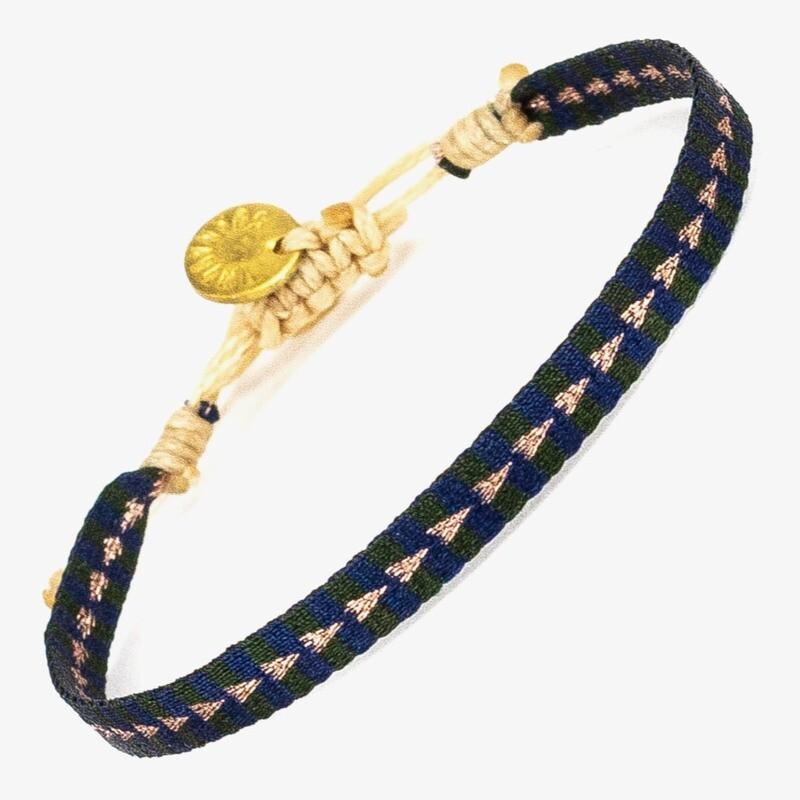 bracelet dark blue