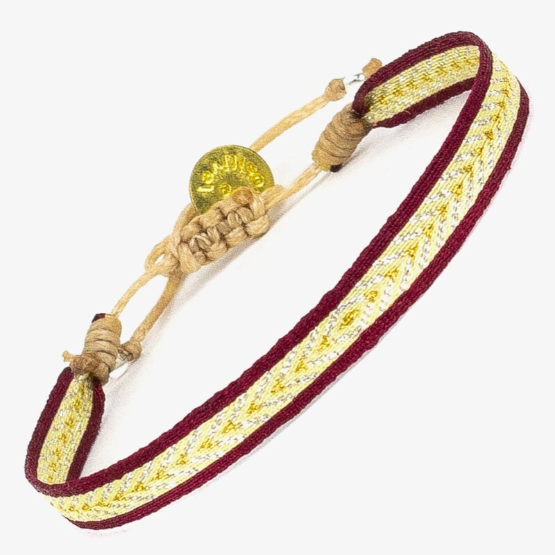 bracelet yellow & red