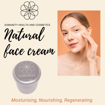 Natural face cream Gamanity