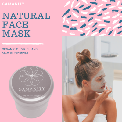 Natural face mask from Gamanity