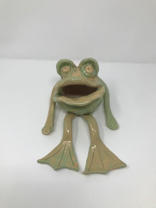 Sunbathing Frog