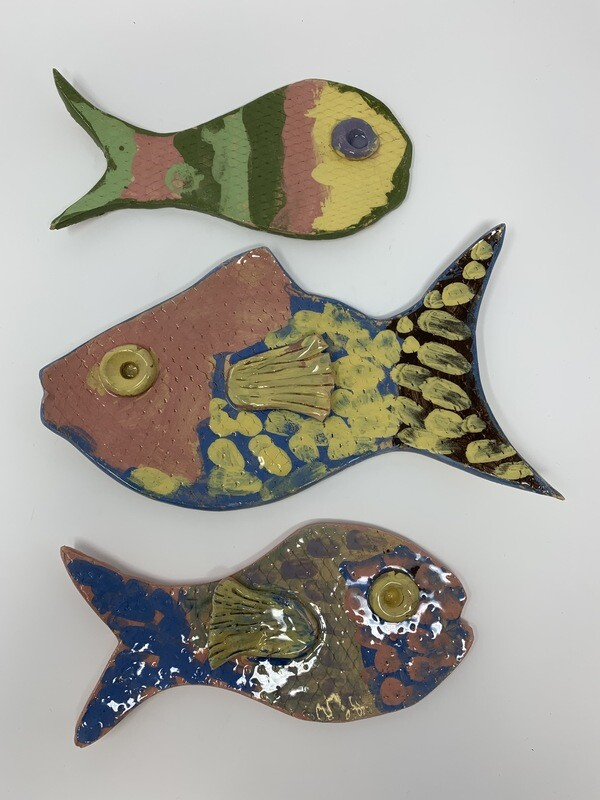 Set of Fish Friends