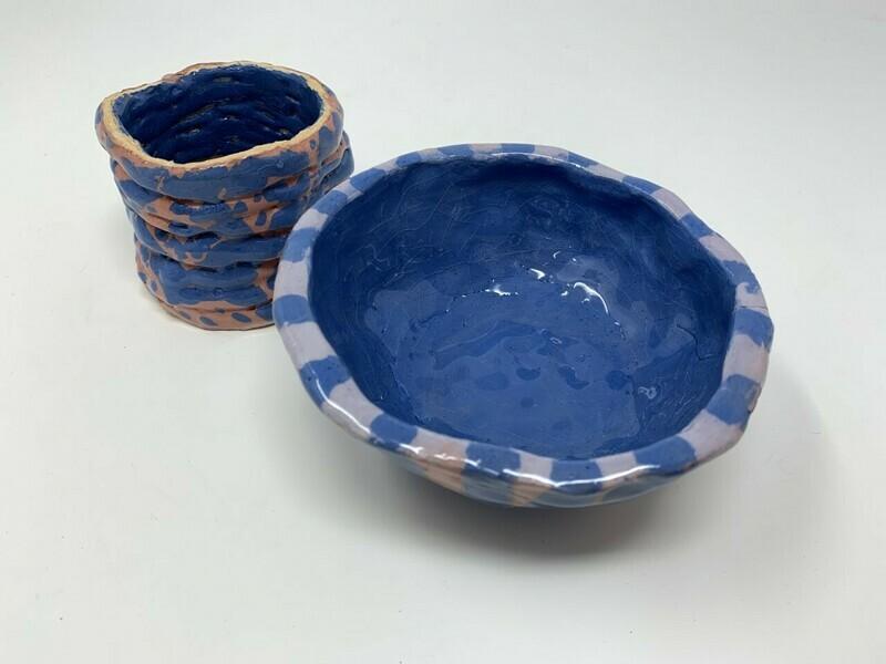 Hand Moulded Bowls
