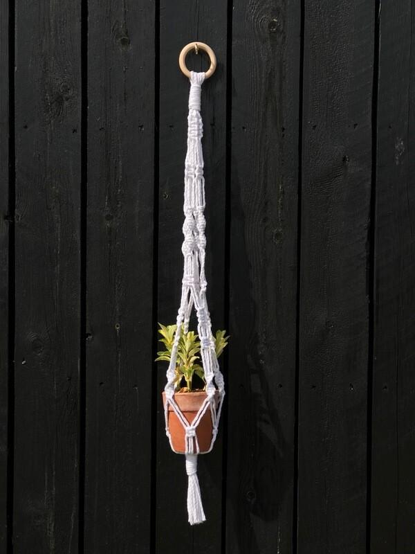 Macrame Twist Plant Hanger