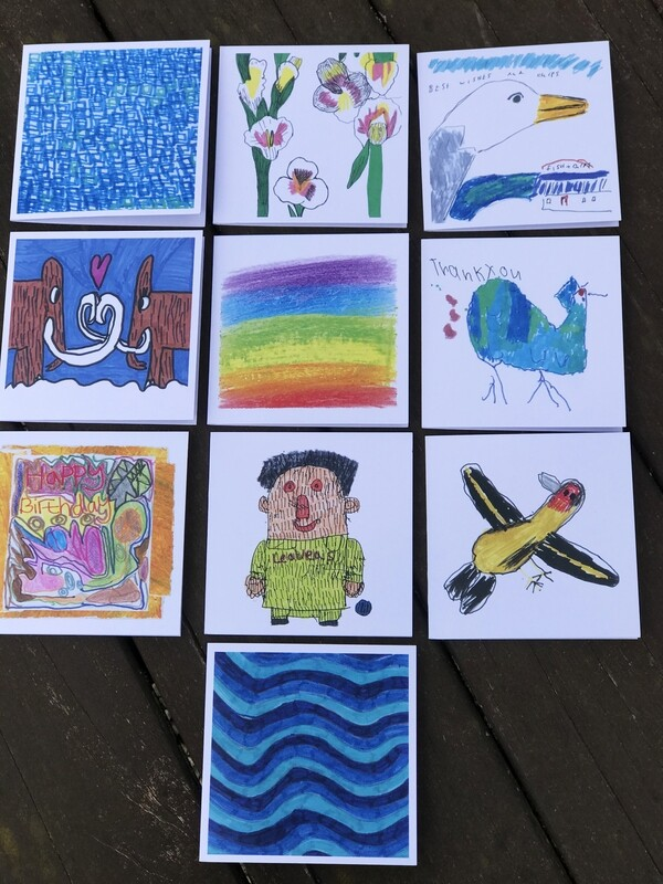 Pack of 10 Quirky Card Collection
