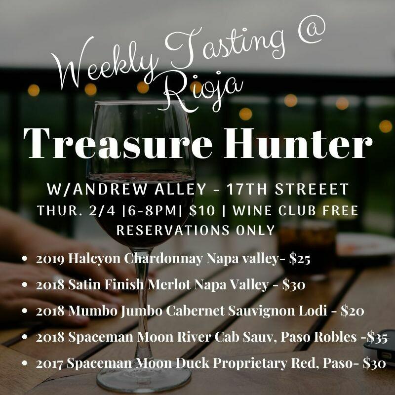 Thursday Tasting - 2/4/21 - 6-8pm