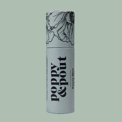 Sweet Mint Lip Balm, Flower Powered Lip Care