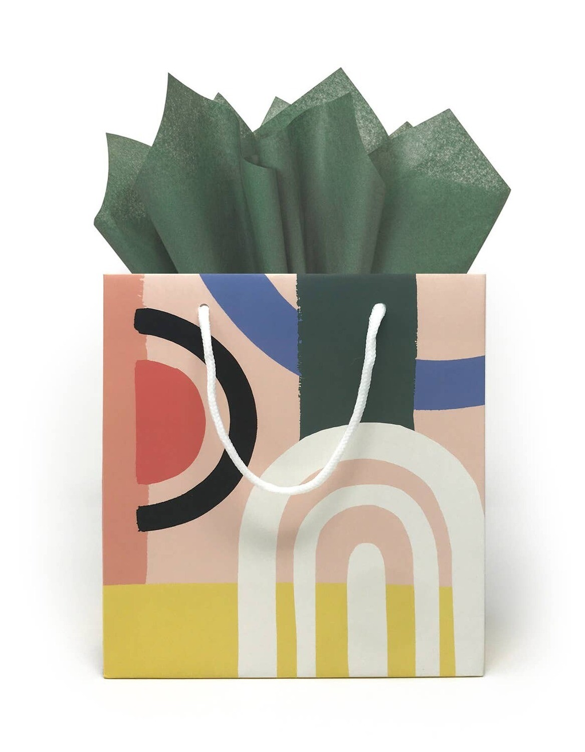 Color Block Gift Bag