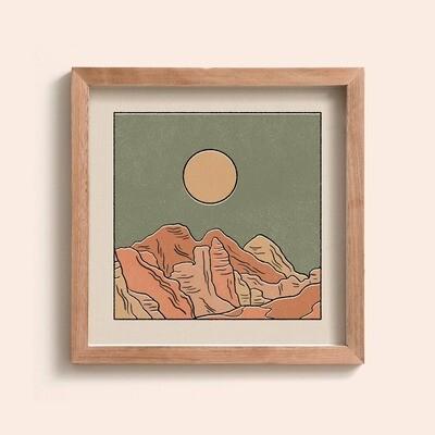 Rocky Mountains Print
